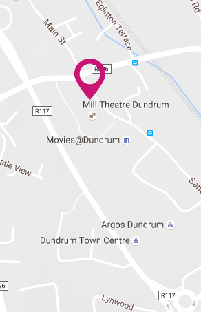 dlr Mill Theatre Dundrum, south Dublin, In the heart of Dundrum in south Dublin, staging the best in theatre, visual art, comedy, music and much more Map