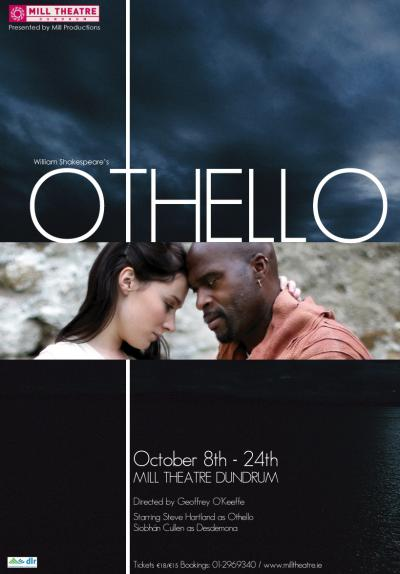 Othello at dlr Mill Theatre Dundrum, south Dublin