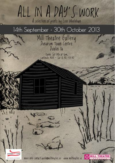 Eoin Whelehan at dlr Mill Theatre Gallery, Dundrum, south Dublin