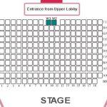 Main Auditorium Seating Plan, dlr Mill Theatre, Dundrum, south Dublin