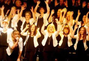 Dublin Gospel Choir at dlr Mill Theatre, Dundrum, south Dublin