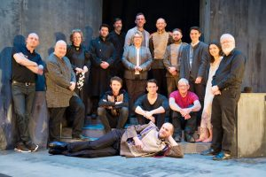 Cast and Crew of Mill Productions' Hamlet October 2016