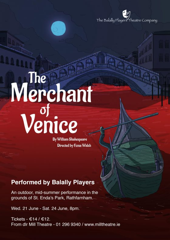 The Merchant Of Venice At St Enda S Park Dlr Mill