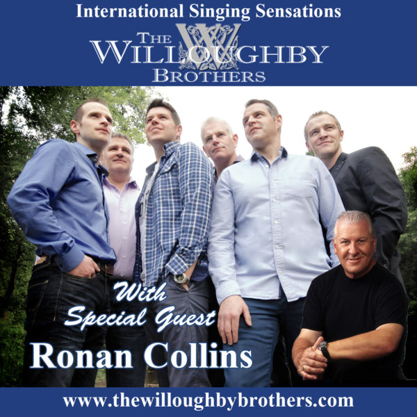 dlr Mill Theatre Willoughby Brothers with Ronan Collins