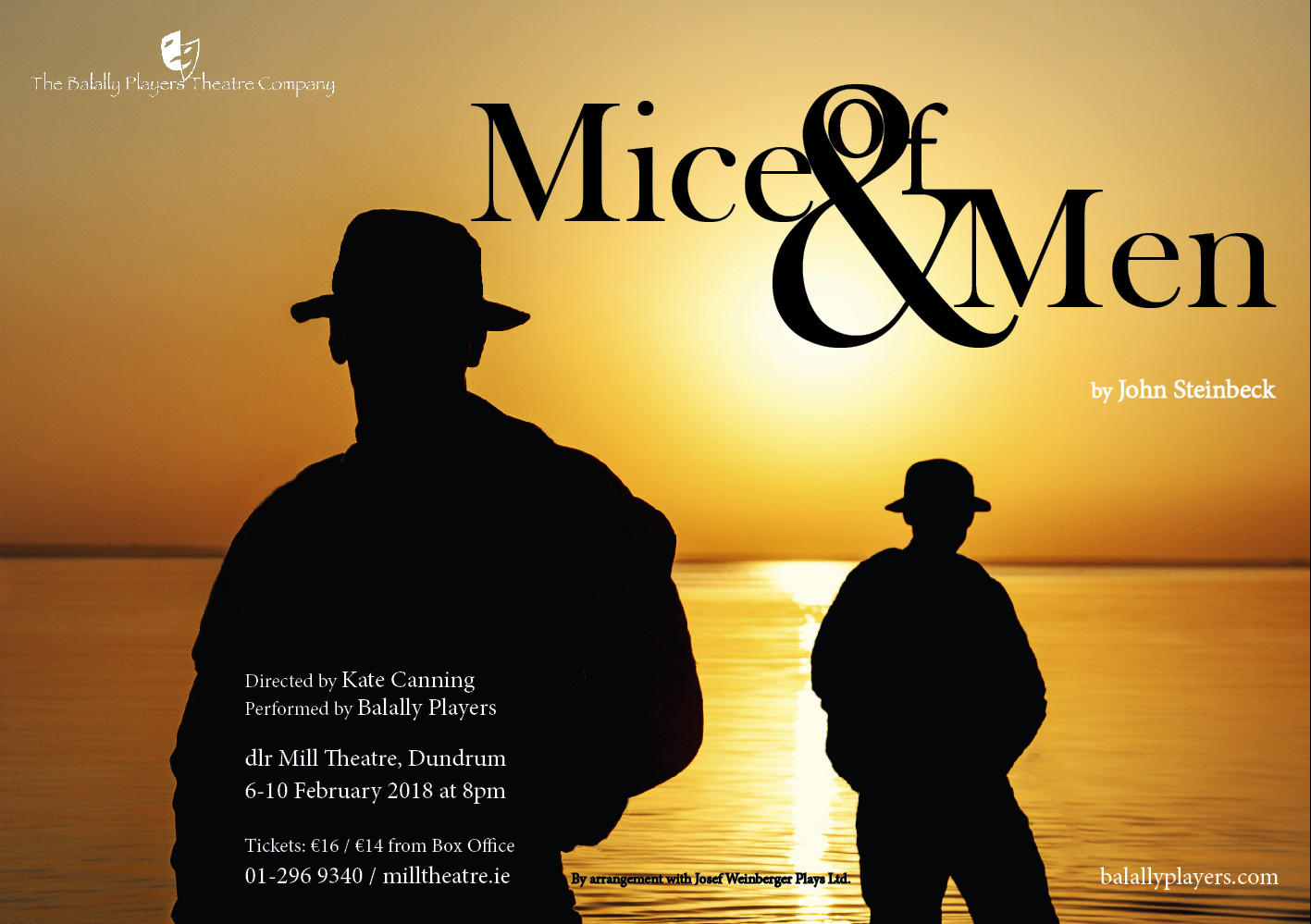 Of Mice and Men - dlr Mill Theatre Dundrum South Dublin